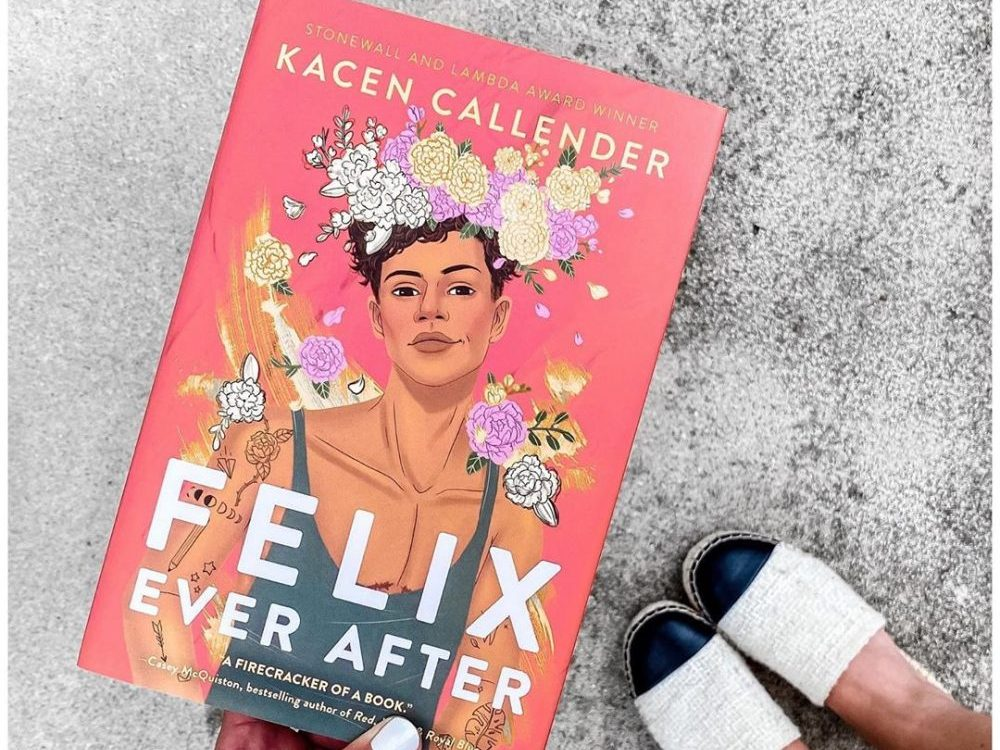 The cover of Felix Ever After