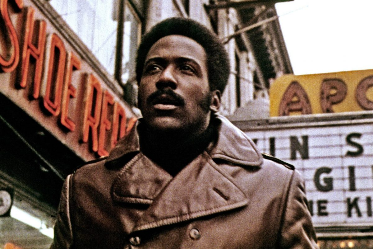 In an article about Blaxploitation films, a screenshot from Shaft