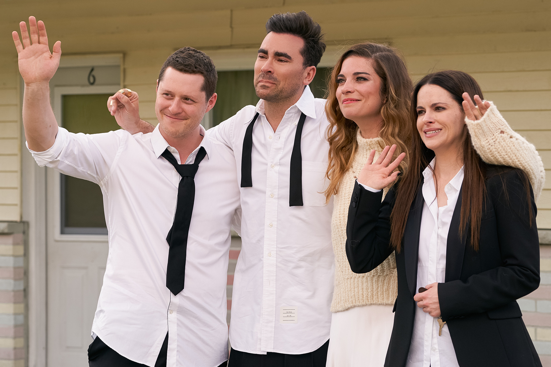 Image of characters from Schitt's Creek. (Image via Google Images)