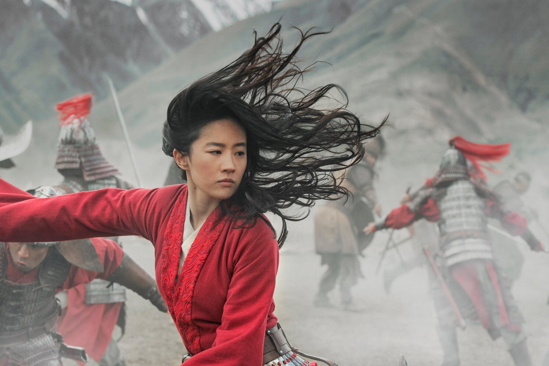 Screenshot from Mulan