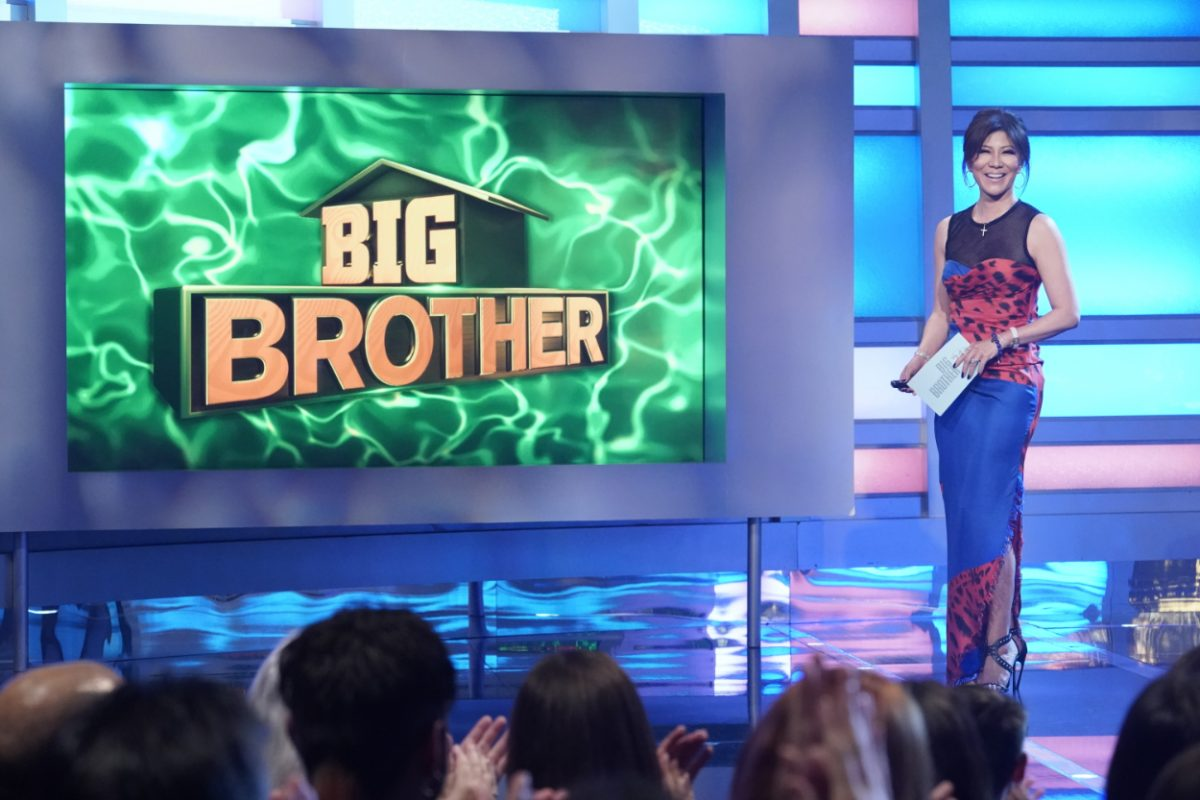 Image of Julie Chen Moonves on the show Big Brother. (Image via Google Images)