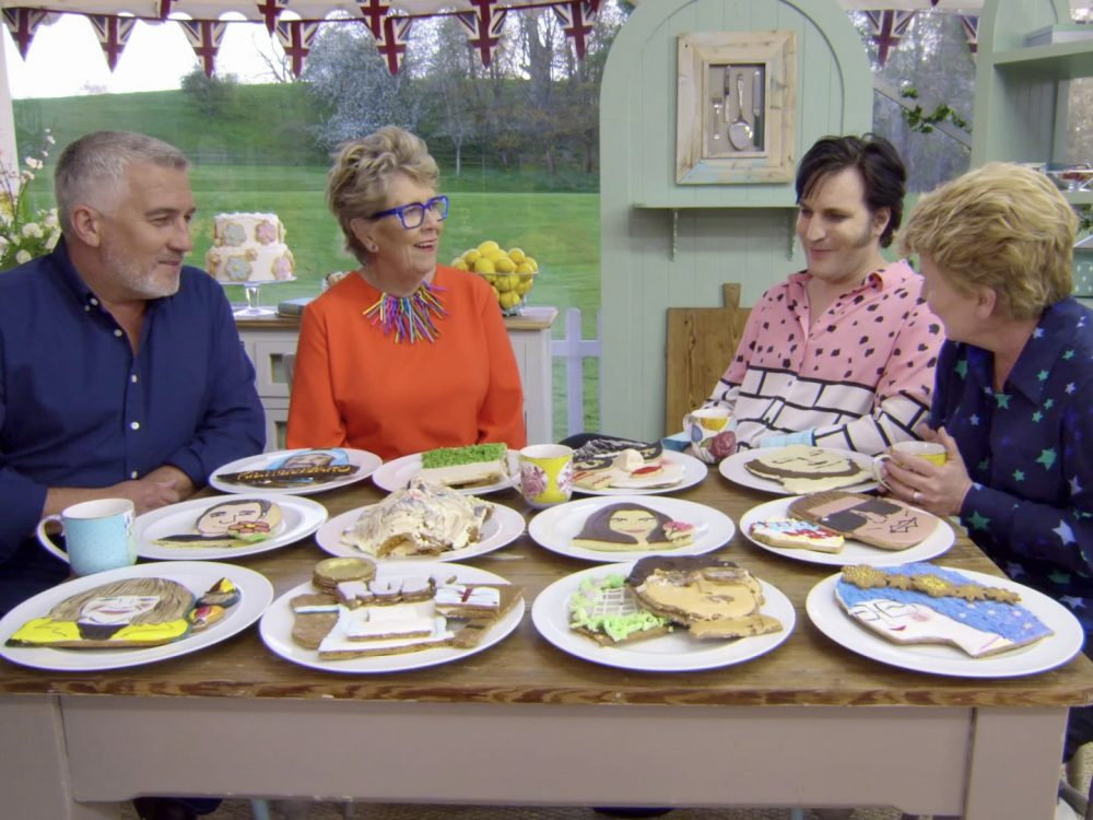 Image of the Great British Bake-Off