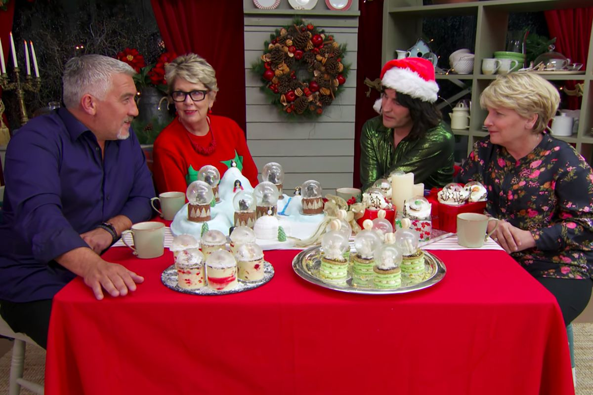 holiday baking shows