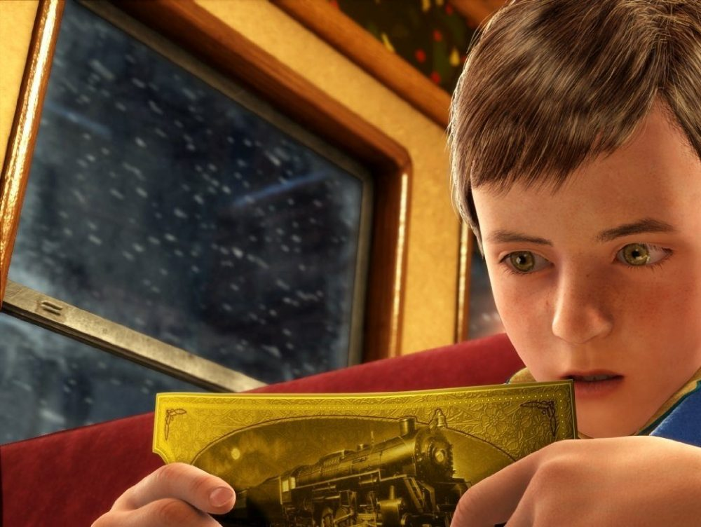 Screenshot of The Polar Express for an article on Christmas movies