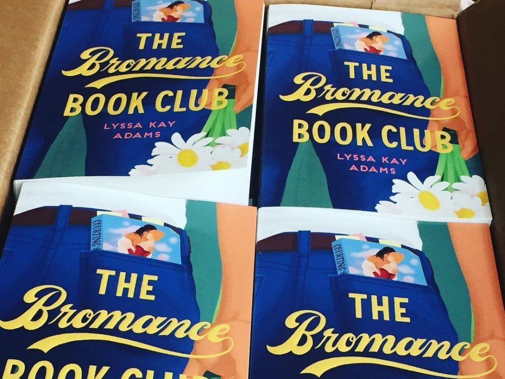 multiple copies of the Bromance Book Club