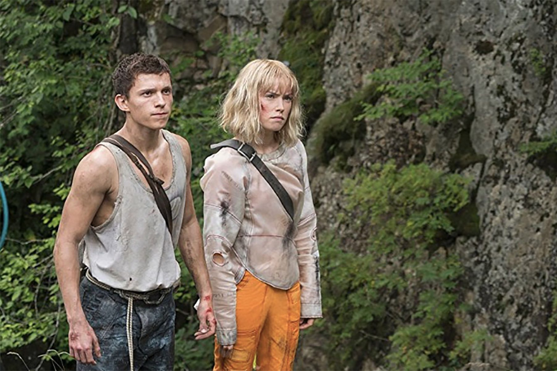 In an article about upcoming young adult film adaptations, a screenshot from Chaos Walking