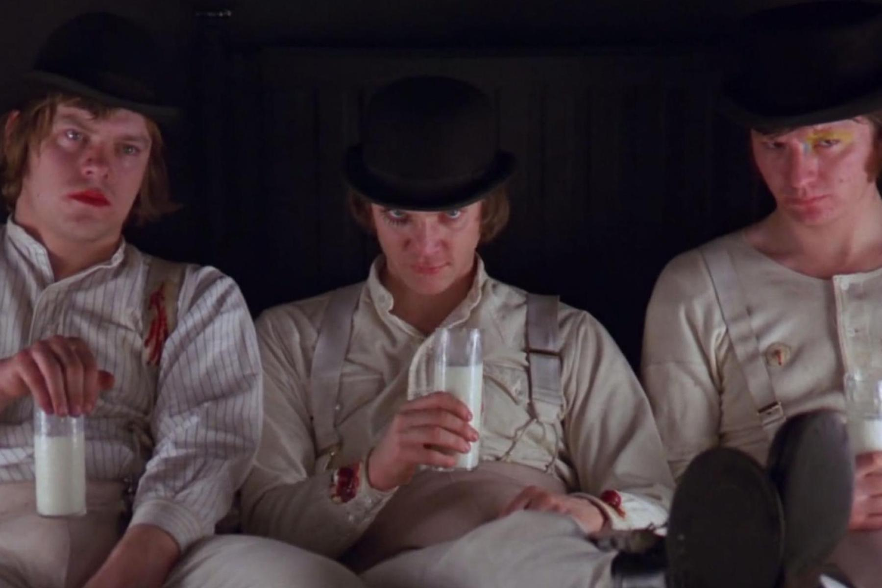 A photo from A Clockwork Orange for an article about the film's 50th anniversary. (Image via Google Images)