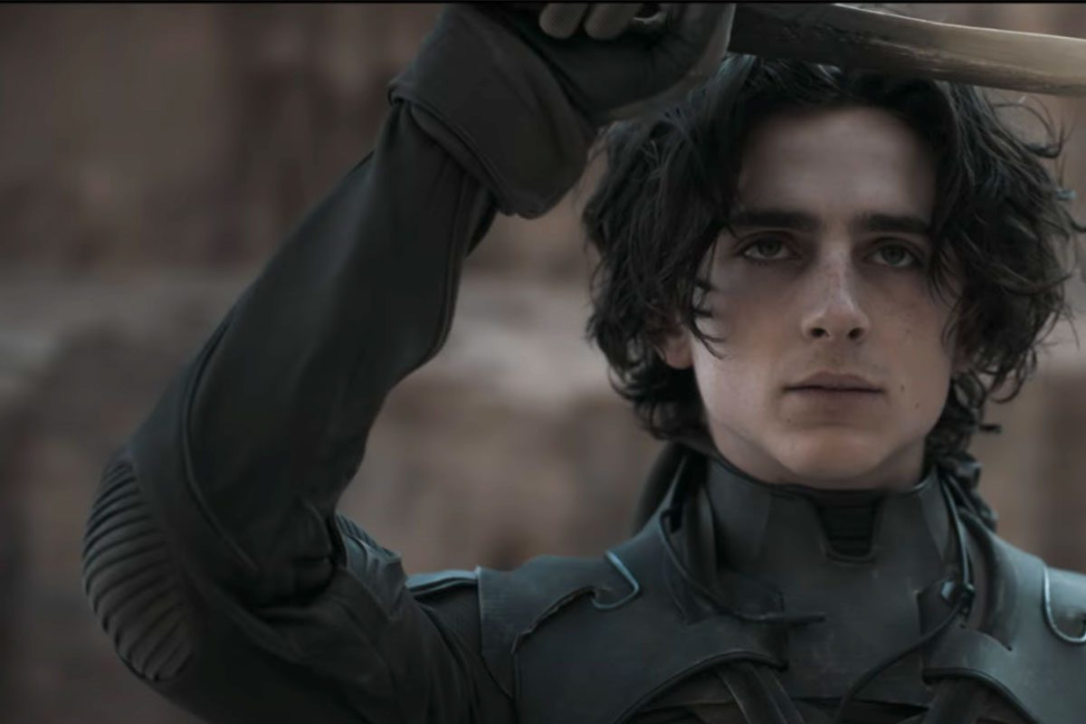 Timothée Chalamet in Dune