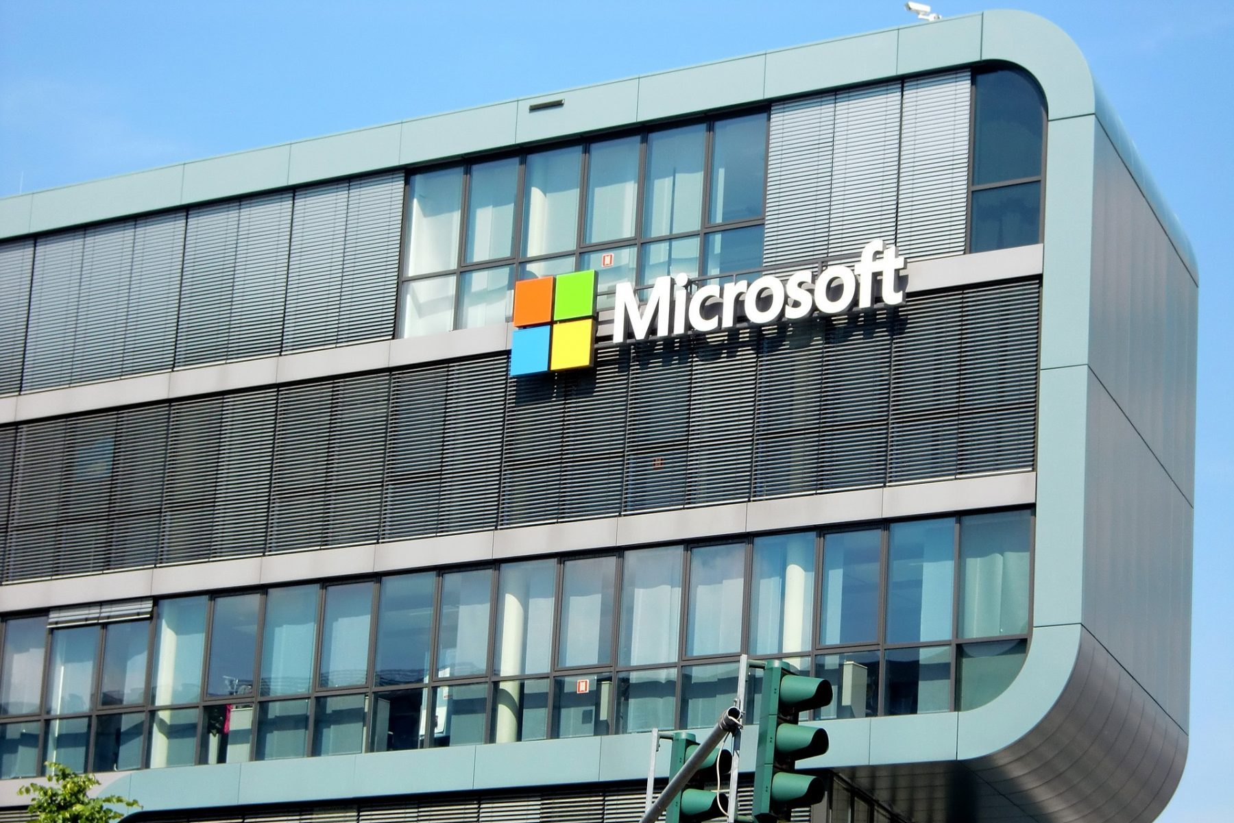 Microsoft building in article about Microsoft Azure