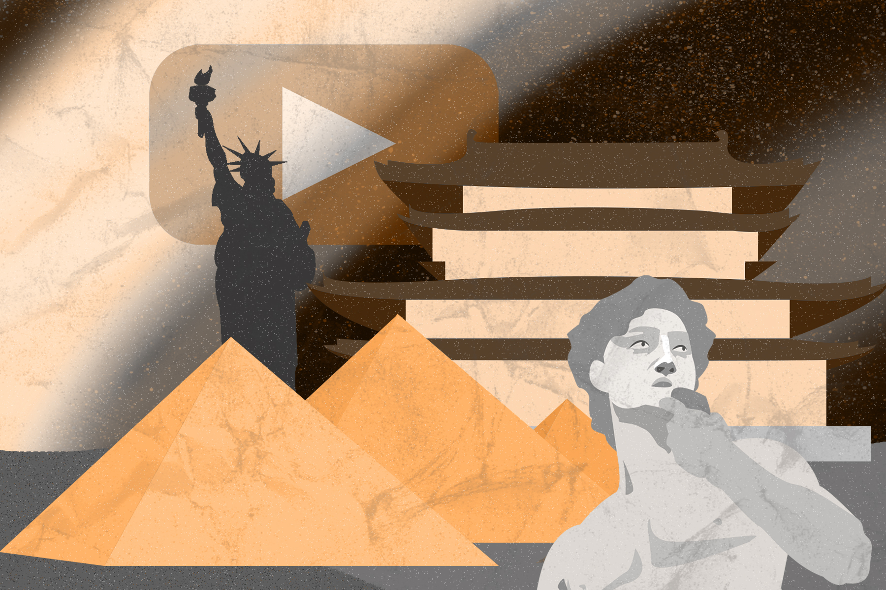 Illustration by Alicia Paauwe for an article on HistoryTube