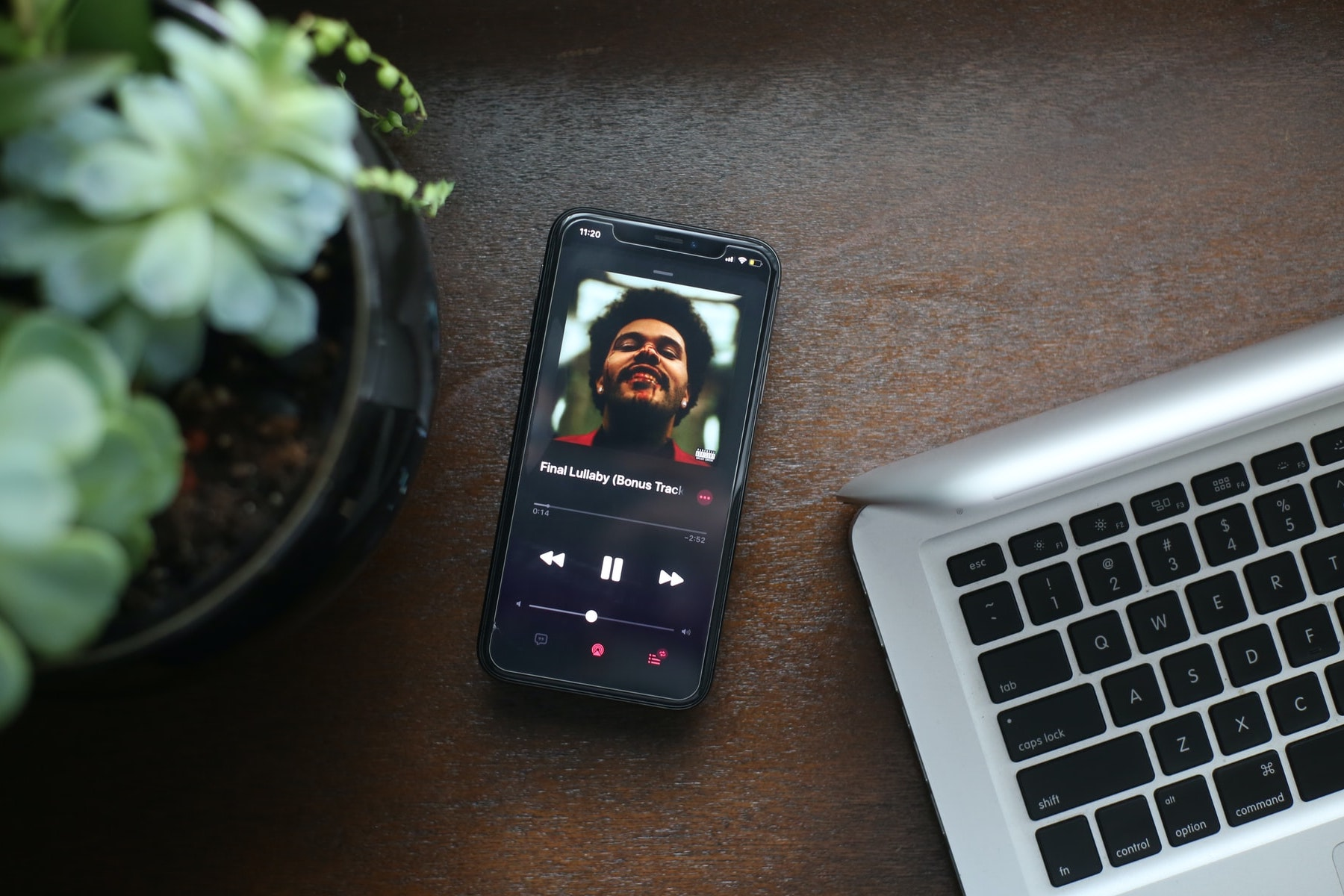 A photo of one of The Weeknd's songs for an article about him being compared to Michael Jackson. (Photo by Giorgio Trovato from Unsplash)