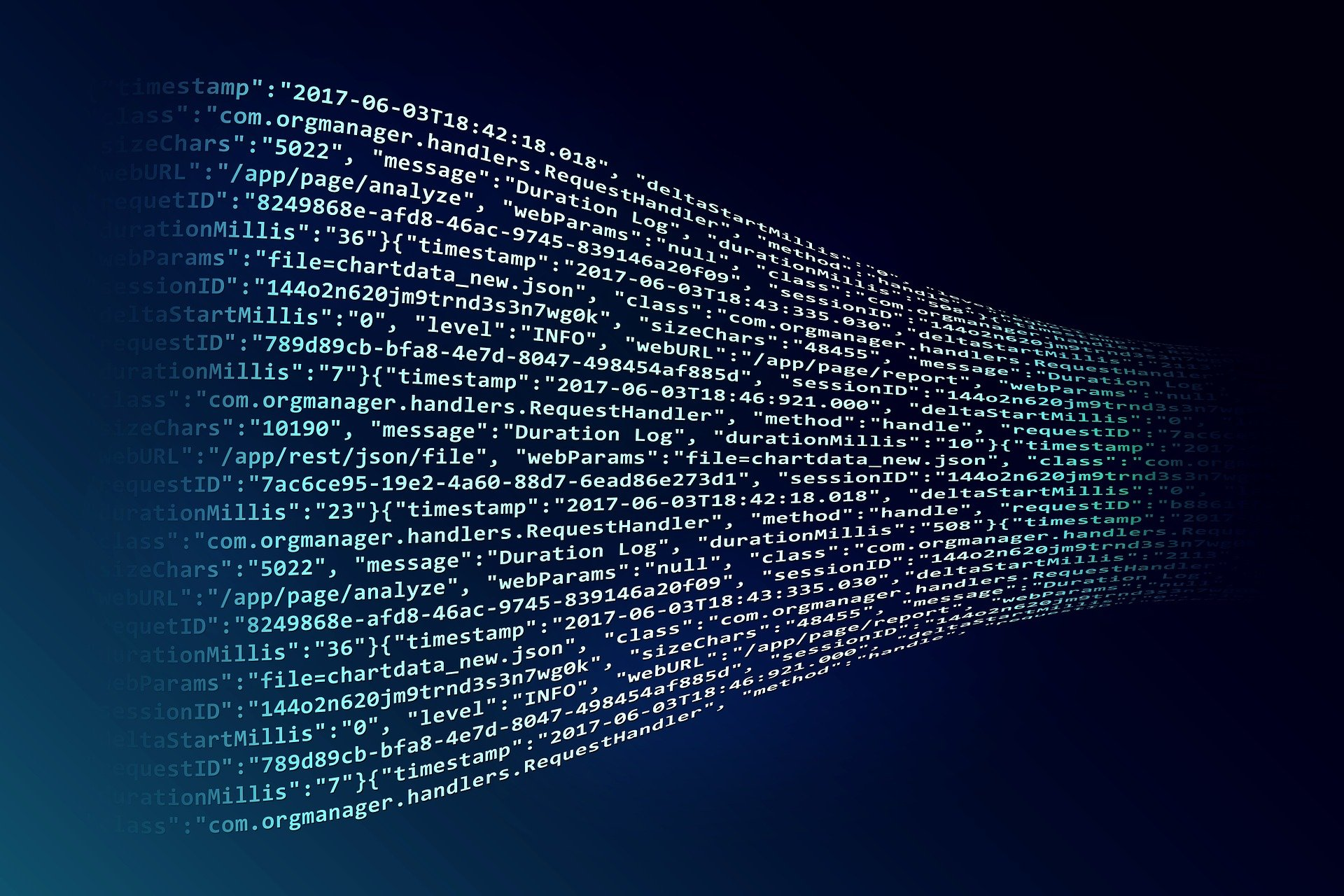 blocks of code in an article about blockchain