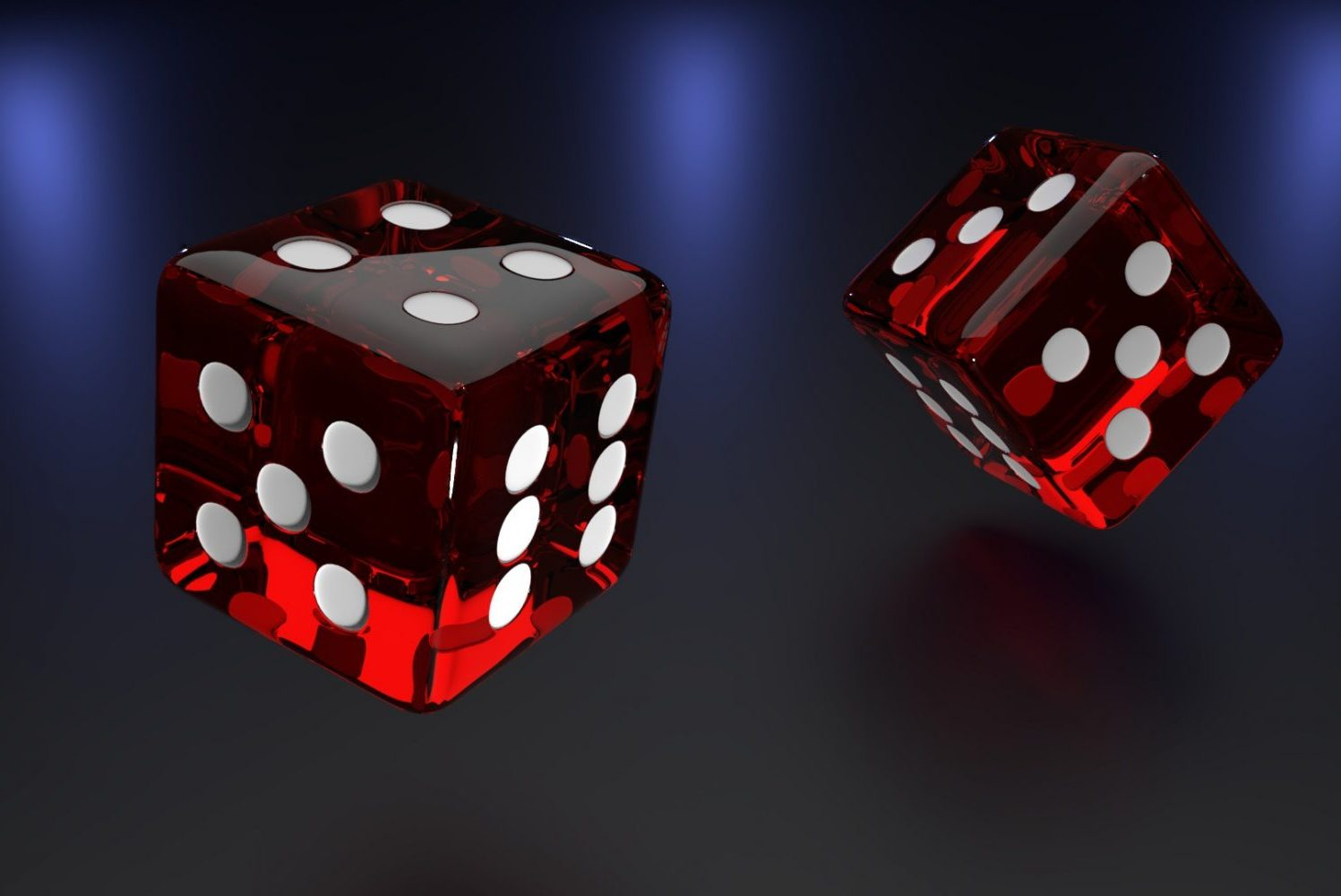 gambling with dice