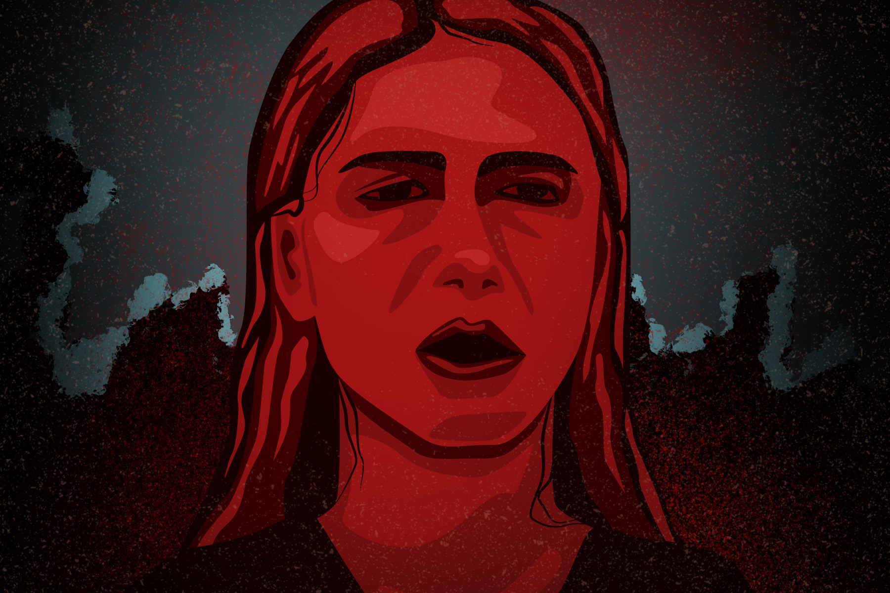 An illustration of Beth from The Night House
